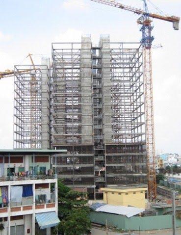 Dự án toà nhà tái định cư H-098 và T-106