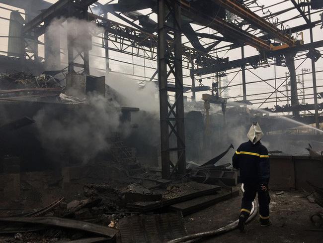 chống cháy nhà máy thép tiền chế